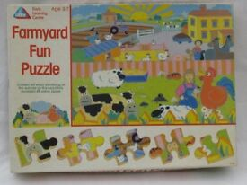 Farmyard Fun Puzzle