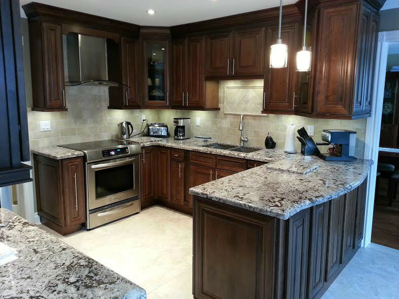 Granite quartz countertop cabinets countertops for Who makes quartz countertops