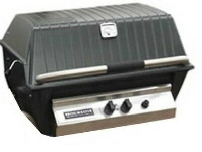 BROILMASTER PREMIUM GAS GRILL HEAD w/Charmaster Briquets, Propane  #P4-X Premium Propane Gas Grill