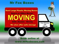 Moving Box Rental and Storage For Home or Office