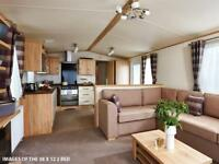 Luxury Static Caravan For Sale In North Wales With Decking
