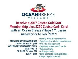 **COME LIVE IN OUR COMMUNITY - OCEAN BREEZE VILLAGE**