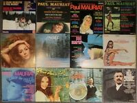 Collection of 37 vinyl records by PAUL MAURIAT