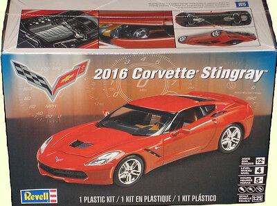 Revell Monogram 2016 Chevrolet Corvette Stingray Model Kit 1/25  IN STOCK!!!