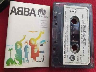 ABBA The Album 1977 Cassette Tape Original Yugoslavia RARE ABBA Tape