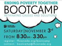 Poverty Boot Camp with Food For The Hungry Canada