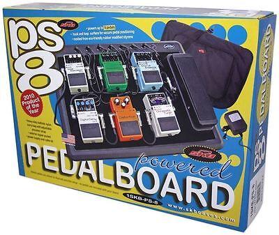 SKB 1SKB-PS-8 8-Port Powered Pedal Board Guitar PedalBoard + Soft Case