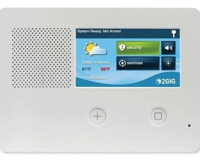 """2gig 2GIG-GC2E-345 5"""" Alarm Control Panel with Touchscreen"""