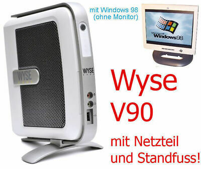 Computer Games - Mini PC Wyse V90 2x RS-232 Lpt Parallel With Windows 98 Also For Dos Games TC2