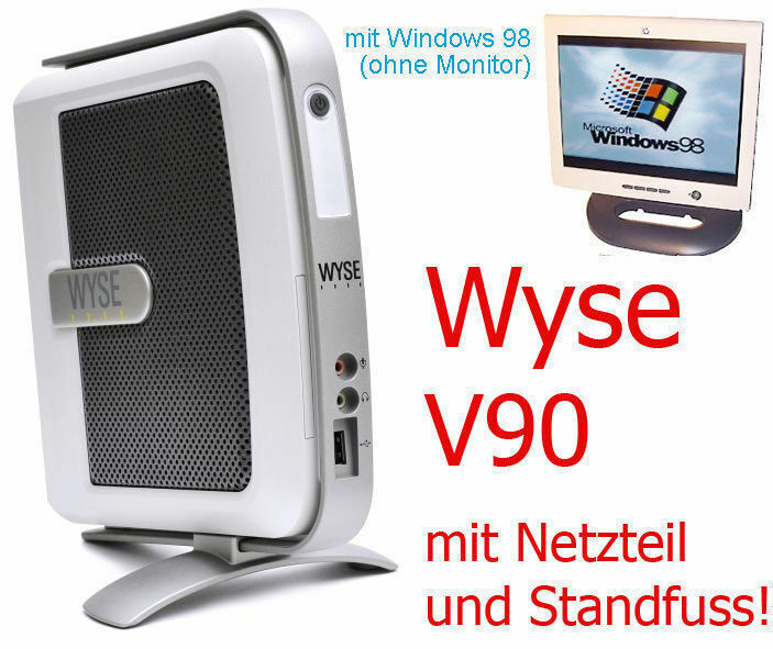 Computer Games - Mini-Pc Wyse V90 Rs 232 For Windows 98 Dos Games & Machine Engine Control TC2
