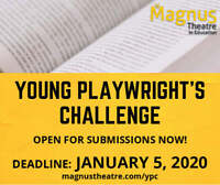 Young Playwright's Challenge - CASH PRIZES!