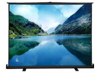 """100"""" Portable Projector Screen 100 Inch Diagonal Projection HD 4:3 80""""*60"""", can deliver +£"""