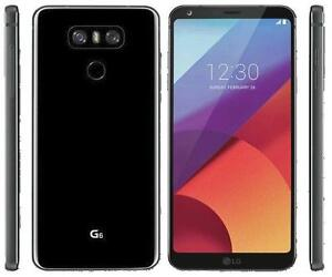 BRAND NEW UNLOCKED LG G6 BLACK WITH BOX AND WARRANTY