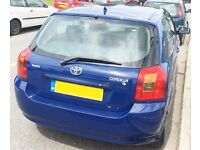 Cheap 2004 Toyota Corolla T2 Owned 10 Year 1.4 Long Mot Serviced Cheap Insurance YARIS CORSA MICRA