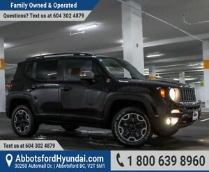 2015 Jeep Renegade Trailhawk ONE OWNER & ACCIDENT FREE