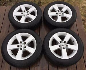4-season Michelin Defender TIRES and  MAGS for Honda Civic 2006