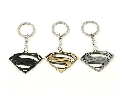 Llavero keyrings de Superman con logo de letra S