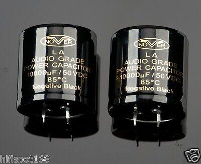 2x 10000uf50v Nover Audio Grade Power 85c Capacitor