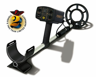 """Fisher CZ-21 Quick Silver Multi-Frequency Underwater Metal Detector with 8"""" Coil"""