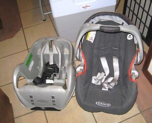 Graco Carseat with base in good condition (exp. 2019)