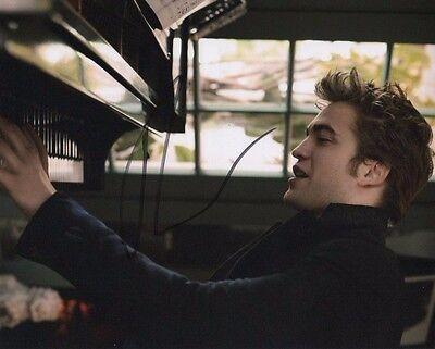 Robert Pattinson Twilight Autographed Signed 8X10 Photo Coa  2