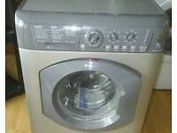 7kg washing machine silver hotpoint