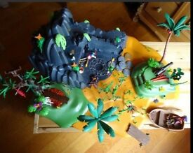Playmobil Pirate Adventure treasure Island 5134