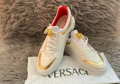 Versace Men Authentic Trainers Brand New Size 8.5