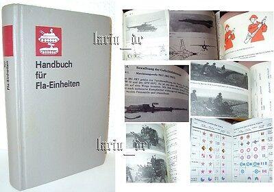 DDR Buch NVA Armee Handbuch Luftverteidigung Luft Abwehr East german army book