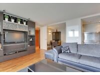 BEAUTIFUL 2BEDROOM FLAT FURNISHED,WOOD FLOORS AVAILABLE NOW IN NEW PROVIDENCE WHARF,FAIRMONT AVENUE