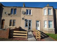 TO LET - Lovely, spacious 1 bed ground floor flat on Black Road, Kelty with private garden - £365pcm