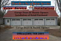 Professionally Installed Garage Door Openers $89.95