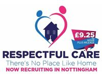 Support & Care Worker £9.25ph + Mileage
