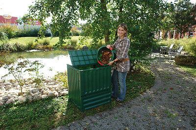 "Graf KOMPOSTER ""Eco-King"" 600 L. GRÜN Komposter Schnellkomposter Gartenkomposter"