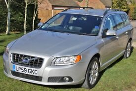 2010 (59) Volvo V70. 2.0D SE in Silver metallic