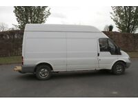 LWB Transit (2ltr diesel) race van and fitted awning for karting, motocross, rallying