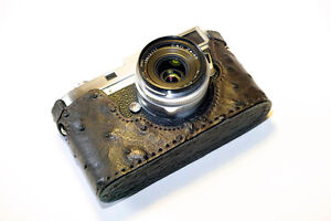 Leica M Case Ostrich Leather  Patagonean  Case m3 m2 m4 m6 m7 MP