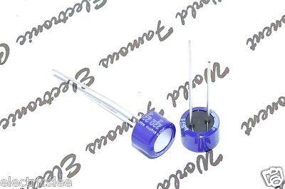 10pcs - Sanyo 220uf 4v Osconos-con Radial Aluminum Solid Capacitors