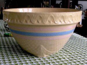 Vintage Yellow Ware Mixing Bowl (USA)