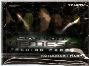 2002 Rittenhouse  Star Trek Nemesis Set (72 cards) & Case