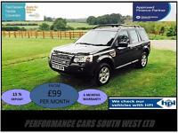 2007 57 Land Rover Freelander 2 2.2 TD4 GS £5,695 FSH,2 Keys,3 month warranty!