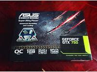 ASUS GEFORCE: GTX750 1GB OC EDITION