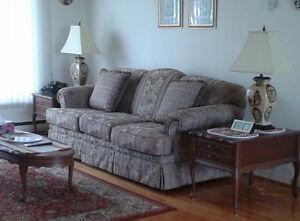 Couch and matching armchair for sale