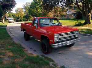 84 k10 chevy truck 4x4 lifted