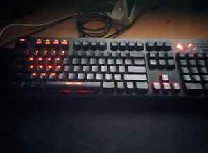 CM Storm QuickFire Pro - Full Size Mechanical Gaming Keyboard wi Cambridge Kitchener Area image 1