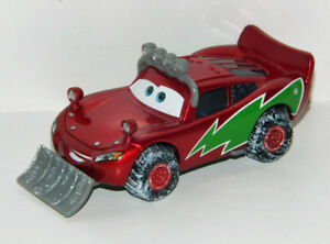 Disney Pixar Cars 1/55 Snowplow Lightning McQueen Diecast Car