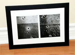 NASA 1967 Astronomy Stereoview MOON 3D Photo LUNAR Surface Space