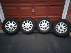 215/70/15 Winter Tires and Rims