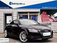 2008 08 Audi TT Coupe 2.0 TFSI S Tronic Coupe Red Leather