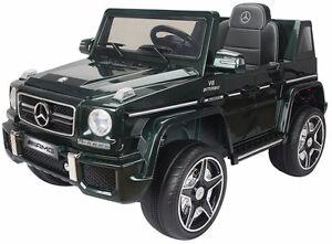 Brand New 12V Mercedez Benz G63 Child Ride On Remote Music Radio